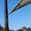 Nesling Paal voor schaduwdoek met flex oog 7x7x250 cm N100-070-250