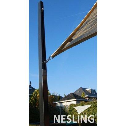 Nesling Nesling Paal voor schaduwdoek met flex oog 7x7x250 cm N100-070-250