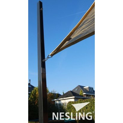 Nesling Nesling Pole for shade sail with Flex eye 7x7x250 cm - N100-070-250