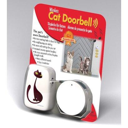 InnovAdvance Wireless alarm cat and dog doorbell