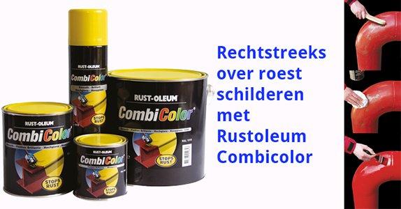 Rechtstreeks Over Roest Schilderen Met Rust Oleum Combicolor