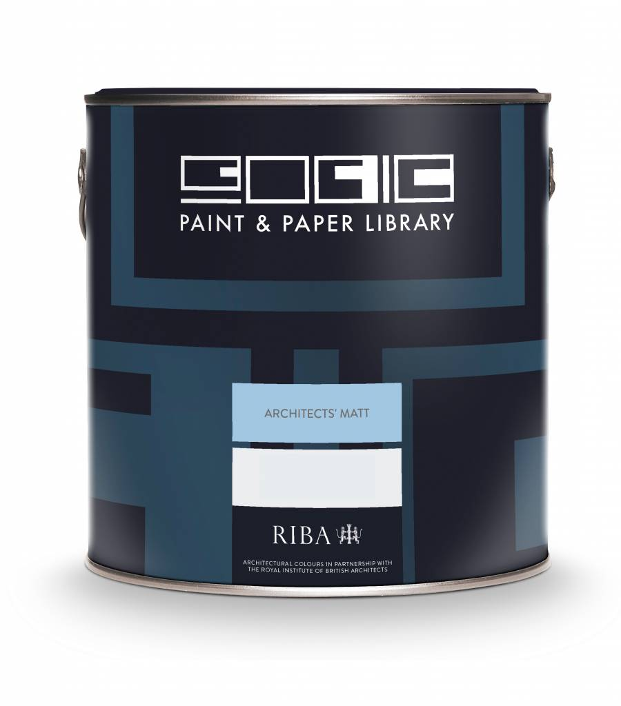 Paint & Paper Library Architects' Matt Muurverf