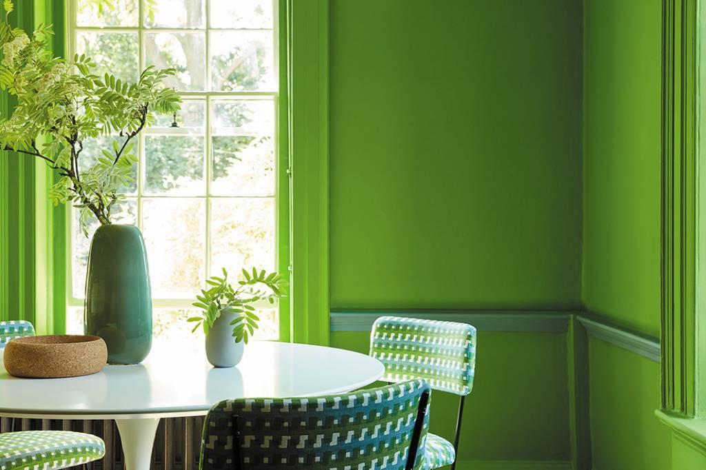 GREEN: het nieuwe kleurpalet van Little Greene