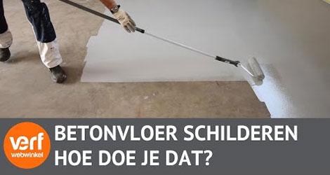 Hoe schilder je een vloer met vloercoating?