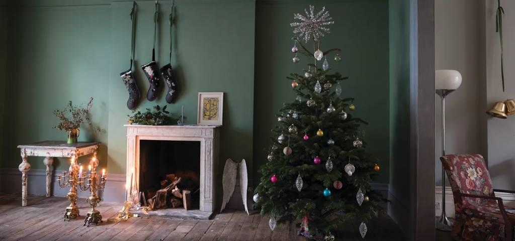 Kom in de kerstsfeer met Farrow & Ball kleuren!