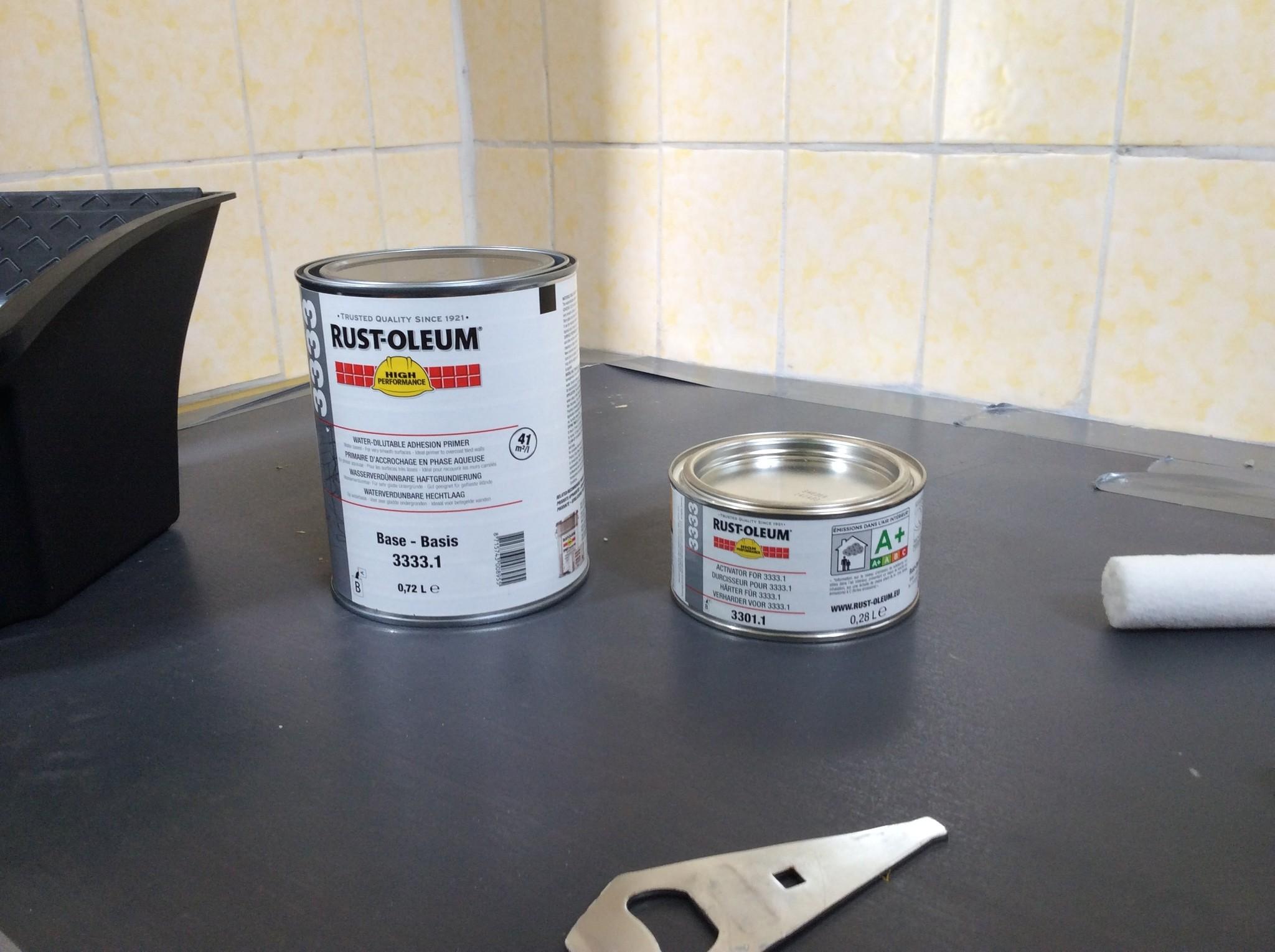Tegels Badkamer Repareren : Handig stappenplan tegels verven met betonverf verfwebwinkel