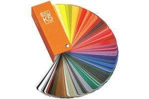 RAL Kleurenwaaier RAL K5 groot