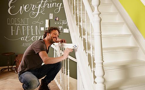 Beroemd Hoe schilder ik een trap? [Minicursus trap verven] - Verfwebwinkel.nl UY21