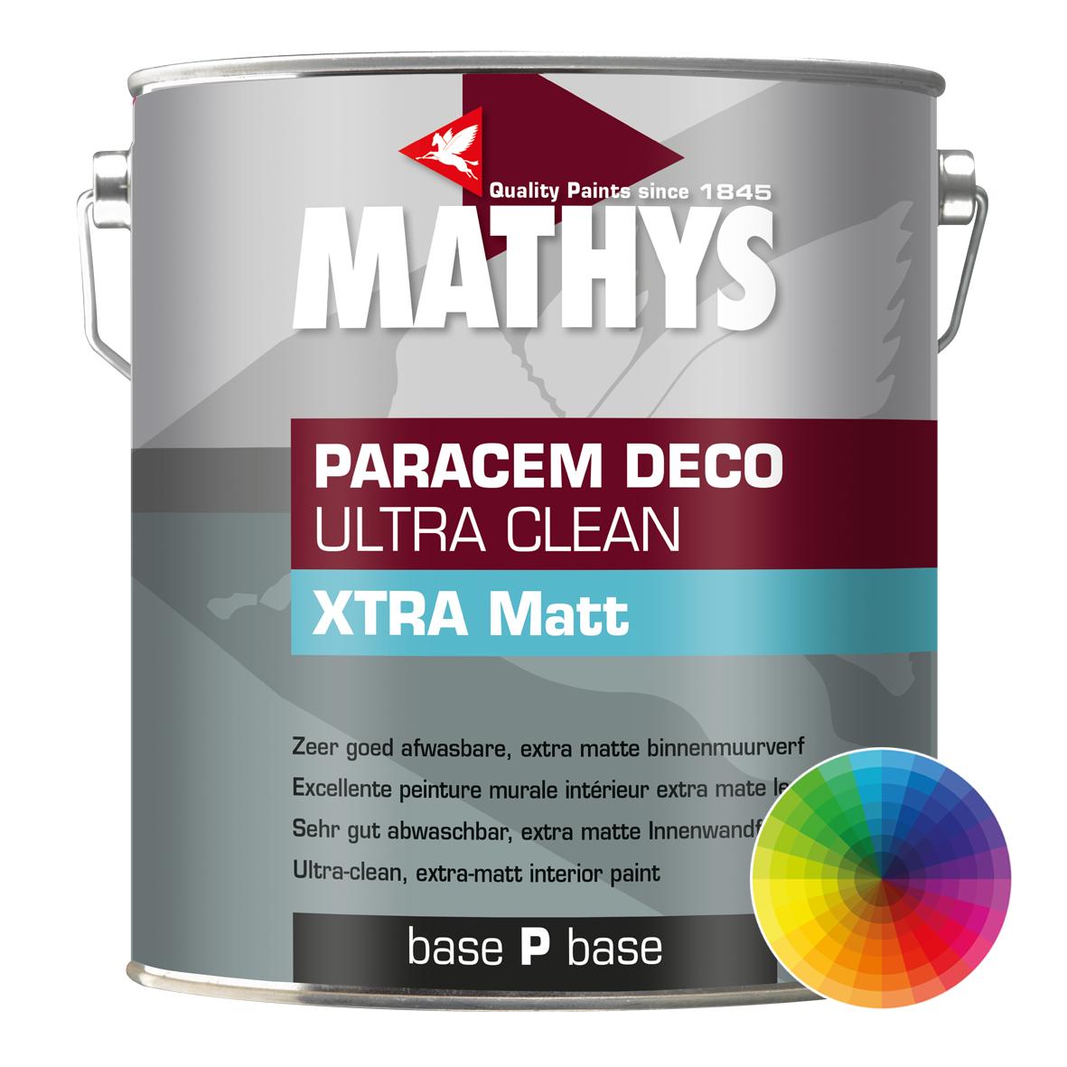 Mathys Paracem deco Ultra Clean XTRA Matt