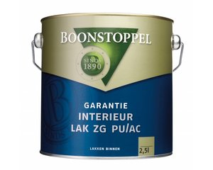 Boonstoppel Garantie Interieur Lak ZG PU/AC
