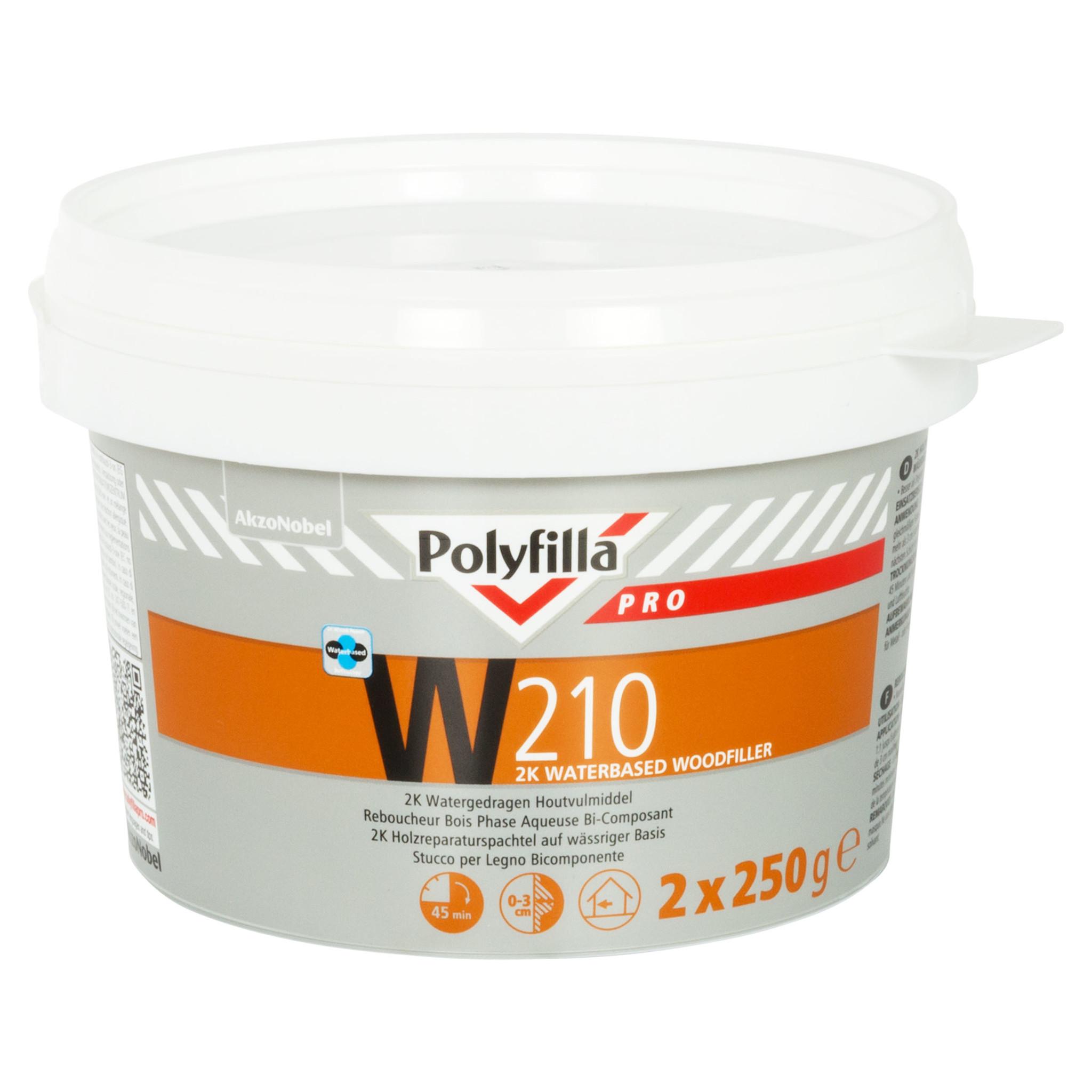 Polyfilla Pro W210 2K Houtreparatie