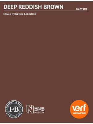 Farrow & Ball Farrow & Ball Deep Reddish Brown No. W101