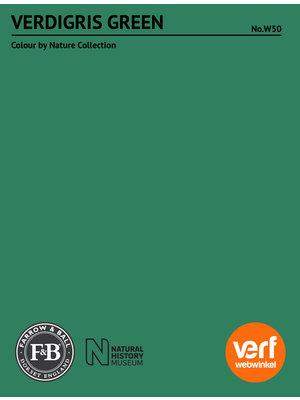 Farrow & Ball Farrow & Ball Verdigris Green No. W50