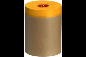 Kip 348 Maskeerpapier met gele Washi-Tec maskingtape