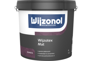 Wijzonol Wijzotex Mat RAL 9010