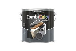 Rust-Oleum CombiColor Multi-Surface Zijdeglans Zwart RAL 9005