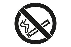 Rust-Oleum Niet roken 45x40cm