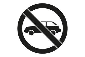 Rust-Oleum Niet parkeren 45x40cm
