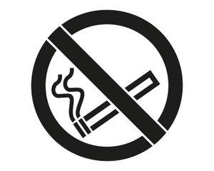 Rust-Oleum Niet roken 90x80cm