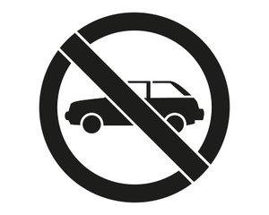 Rust-Oleum Niet parkeren 90x80cm