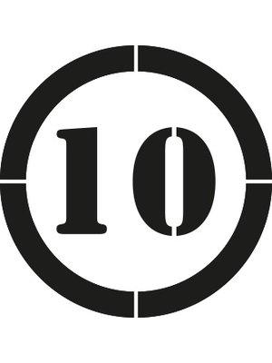 Rust-Oleum Maximaal 10 km/u 90x80cm