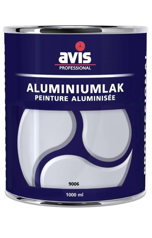 Avis Aluminiumlak RAL 9006