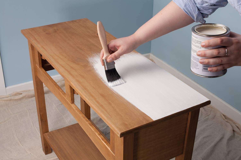 Meubels Wit Verven : Meubels verven: een goede voorbereiding is het halve werk