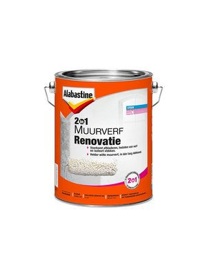 Alabastine 2in1 Muurverf Renovatie
