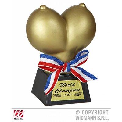 Gouden tieten trofee voor vrijgezellenfeesten