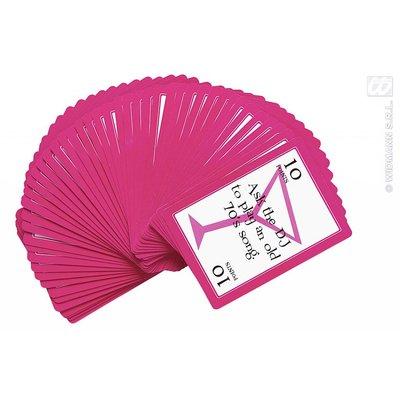 Kaartspel met henparty opdrachten
