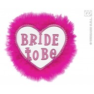 Witte broche Bride to be
