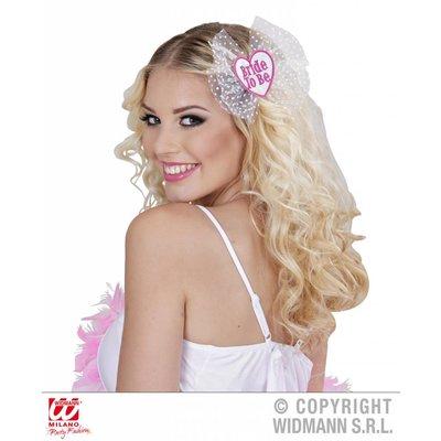 Bride to be haarclipjes