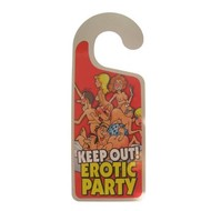 Hanger keep out erotic party