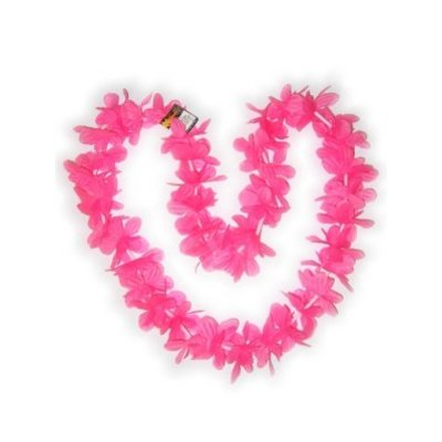 Roze Hawaii slingers voor 's zomerse henparty's