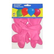 Hartjesballonnen roze