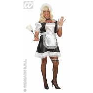 Vrijgezellen-kleding travestie: Frans Kamermeisje