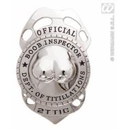 Vrijgezellenparty-accessoires Borsten-inspecteur