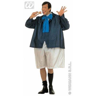Vrijgezellen-outfit Vette schooljongen feestkleding