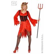 Vrijgezellen-outfit sexy duivel