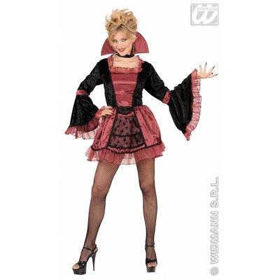 Vrijgezellen feestkleding sexy Gotische Vamp