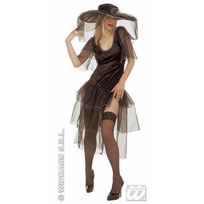 Vrijgezellen feestkleding Sexy pittige weduwe