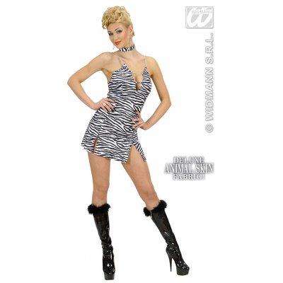Sexy vrijgezellen feeskleding: Zebra-girl
