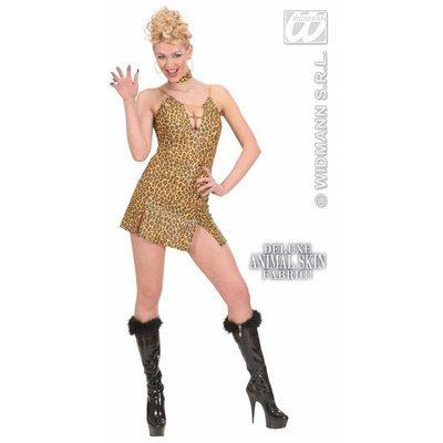 Sexy feestkleding vrijgezellenkostuum: Leopard-girl