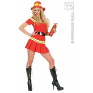 Vrijgezellenkostuum: Sexy Fire-girl