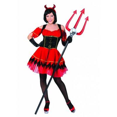 Feestkleding voor henparty's: Sexy Devil-girl