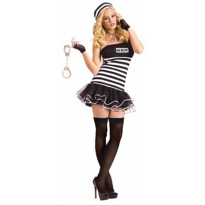 Vrijgezellenavond feestkleding: Miss Guilty