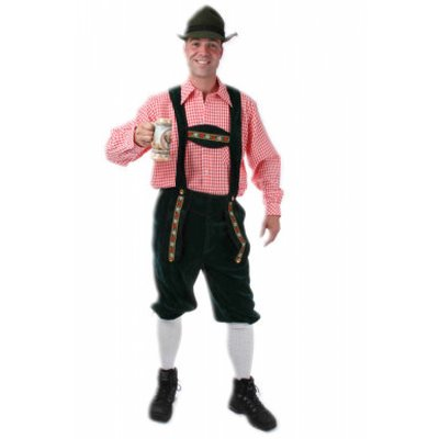 Vrijgezellenavond tip: Lederhose (Tiroler broek)