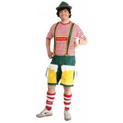 Vrijgezellenavond feestkleding tip: Oktoberfestbroek