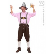 Bierfest: Beierse lederhose met blouse