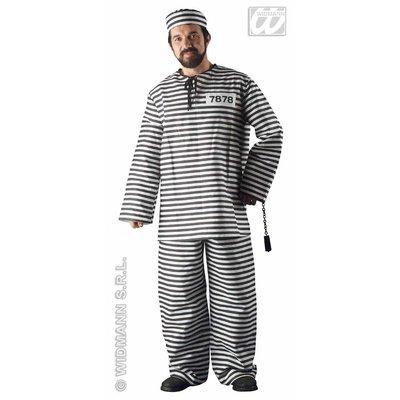 Feestkleding voor vrijgezellenparty's: Gevangene
